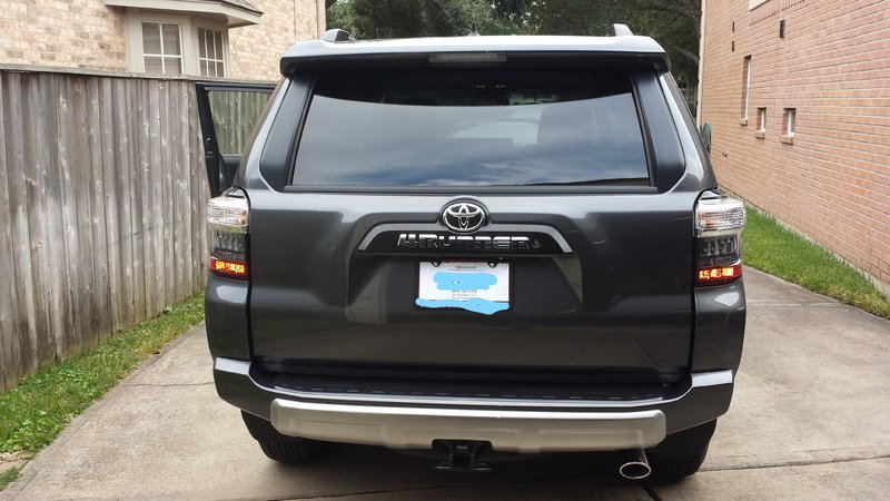 Trail lower valance front rear removal toyota 4runner for Garage toyota valence