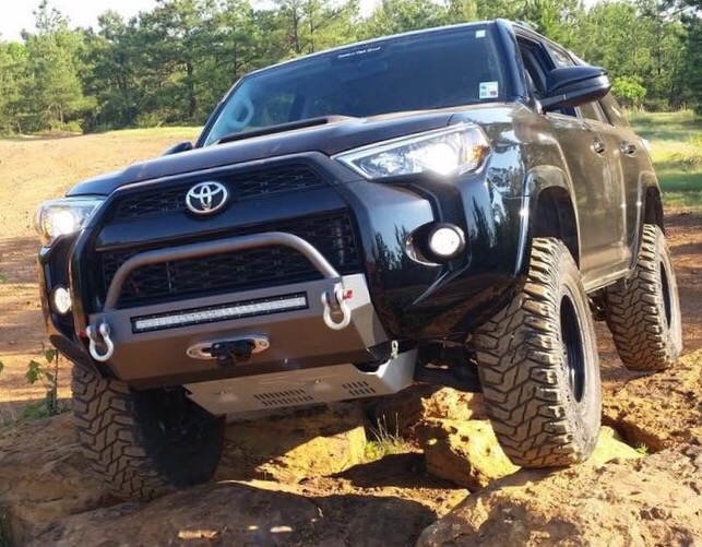 Anyone know who makes this bumper mod toyota 4runner forum 4runners com