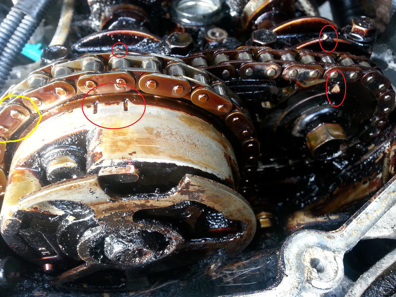 4 0l v6 blown head gasket toyota 4runner forum 4runners com i would love to rotate this to the head that i am replacing pop the link open the chain and the head do any of you know if this is possible or